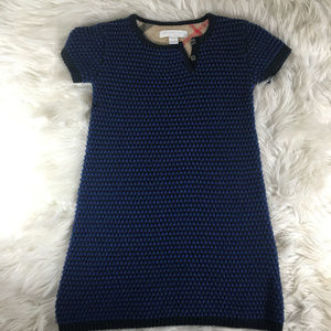Burberry Children Angora Fur Sweater Dress Size 4Y